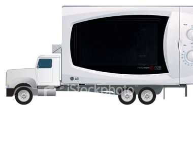 une autre id e saugrenue les camions micro ondes blog story. Black Bedroom Furniture Sets. Home Design Ideas