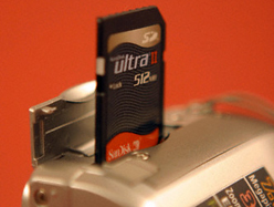 SD flash memory