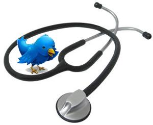 la santé et twitter