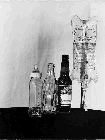 les 4 bouteilles de la vie